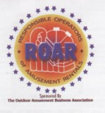 ROAR Responsible Operators of Amusement Rentals member logo