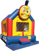 Train jump is 13' x 15' and a favorite with pre-school age children!